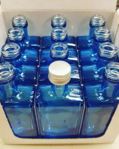 Blue Bottle Gin miniature Guernsey