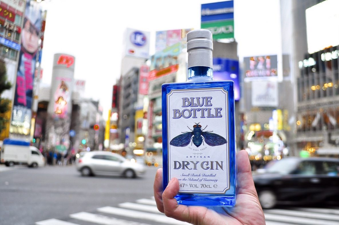 Blue Bottle Gin_ShinuyaCrossing_Japan