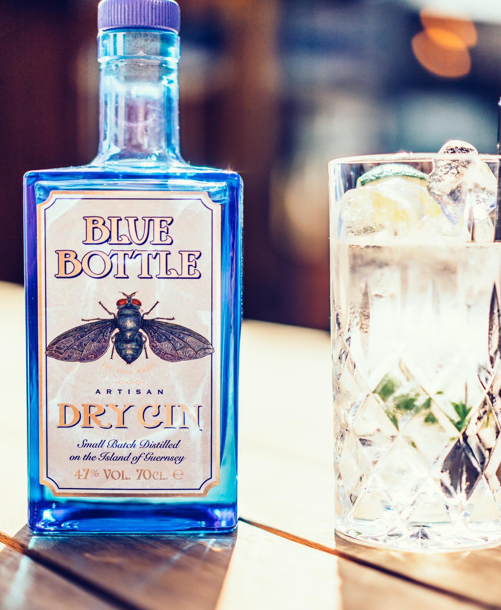 Blue Bottle Gin The Slaughterhouse Guernsey