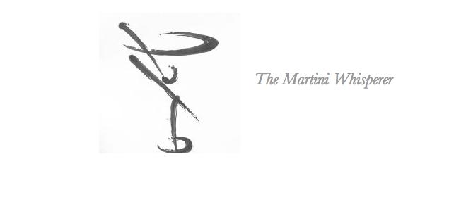 The Martini Whisperer Blue Bottle Gin